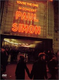 Cover Paul Simon - You're The One - In Concert [DVD]